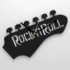 ЧАСЫ НАСТЕННЫЕ ROCK`N`ROLL