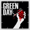 ЧАСЫ НАСТЕННЫЕ GREEN DAY