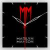 ЧАСЫ НАСТЕННЫЕ MARILYN MANSON